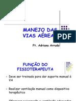 MANEJO DA VIAS AÉREAS