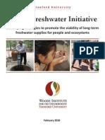 Global Freshwater Initiative