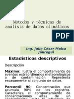 Métodos y técnicas de análisis de datos climáticos