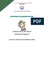Apuntes Estudio Del Trabajo II.