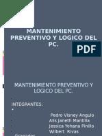 mantenimientopreventivoylogicodelpc