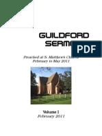 GUILDFORD Sermons Volume I February 2011