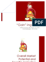 Introducing Gain Detergent in China