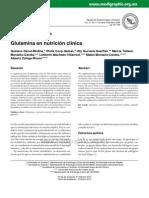 Glutamina en Nutricion Clinica