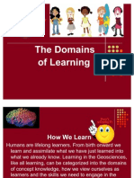 Domains of Learning
