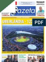 JN Gazeta de Uberlândia - Edição Especial - 123 anos de cidade