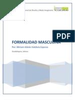 FORMALIDAD MASCULINA I