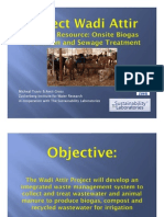 Waste to Resource. Onsite Biogas Production & Sewage Treatment