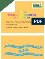 CL1 Aportes de Gall a La Psicop