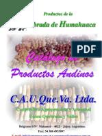 Cultivos Andinos en Ppt