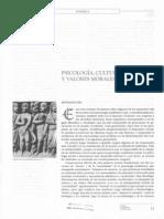 Psicologia Cultura y Valores Morales