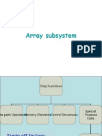 Array Subsystem