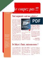NE COUPEZ PAS n°14 - Septembre 2011