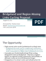 Bridgeland and Region Missing Links Cycling Proposal
