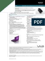 VPC-EA37FL_specs