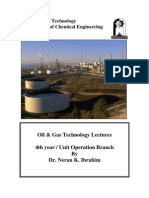 Oil Refining and Gas Technology Dr Neran