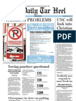 The Daily Tar Heel for August 31, 2011