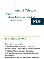 Assessment of Advertising Message in Indian Telecom Market