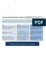 Group Organization Inquiry