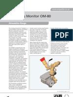 Data Sheet - Angus OM-80 Oscillating Monitor