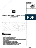 L-26 Indian Society Tribal Rural and Urban