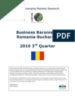 Business Barometer Romania 2010-III