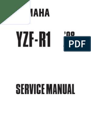 Yamaha YZF-R1 1998 Service Manual 4XV1-AE1 | Clutch ... on