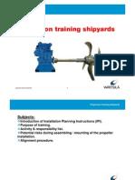 Wartsila Propulsion Training Shipyards