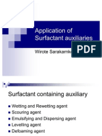 28010526 Textile Auxiliaries Surf Act Ant Auxiliaries