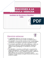 Alteraciones a La Glandula Sebacea [Modo de ad (1)