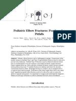 Pediatric Elbow Fractures