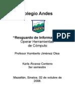 Resguardo de Información-Karla