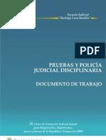 234 05 Pruebas y Policia Judicial Disciplinaria