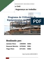 HSEGT_Programa de Utilização de Equipamentos de Protecção Colectiva