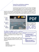 Spanish National Ports and Harbours Authority                                                             Portus Marine Information System