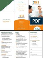 ZMKD - Folder Kommunikationstag 2011