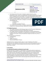 01 Preventative Maintenance Procedure 1 P04