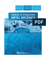Livro Manual Tecnologia Metal Mec