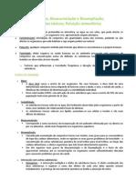 Poluição, Bioacumulação e Bioampliação; Agentes tóxicos; Poluição atmosférica