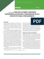 Preservacion Material Biologico