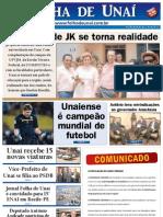 JORNAL FOLHA DE UNAÍ - AGOSTO DE 2011