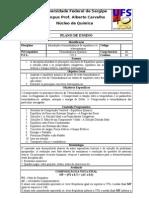 075_plano de Ensino Termodinamica Equilibrio e Eletroquimica