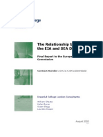 The Relationship Between EIA and ESA