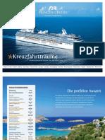 Princess Cruises Katalog 2012-2013 (Schweiz / DE)