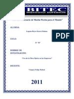 FIBRA OPTICA Para Presentar