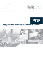 Telit Tiny One Pro 868MHz Module User Guide r2