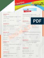 Algebra - Seminario Gratuito Cpu Unasam 2011 - II