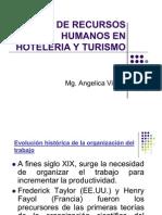 Gestion de Recursos Humanos en Hoteleria y Turismo