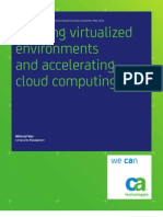 Securing Virtualized Environments and Accelerating Cloud Computing