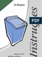 Manual Lavadora Electrolux